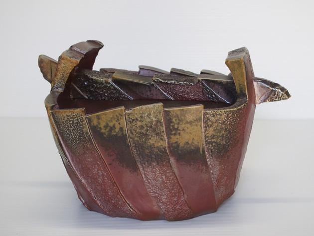 造形手桶花器2